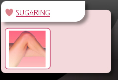 Sugaring Treatments are available at Pebbles Beauty Llanelli